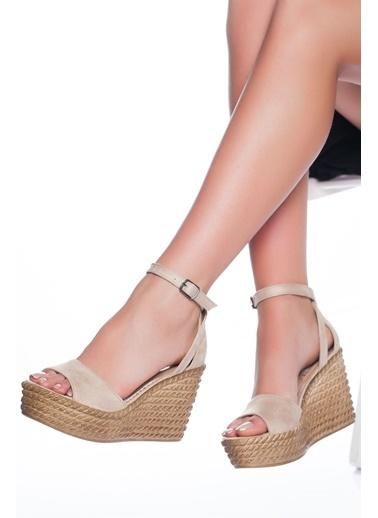 Derithy Derithy-Dolgu Topuklu Ayakkabı-Multi 3 Ten